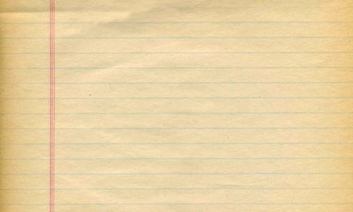 Old Notepaper Texture