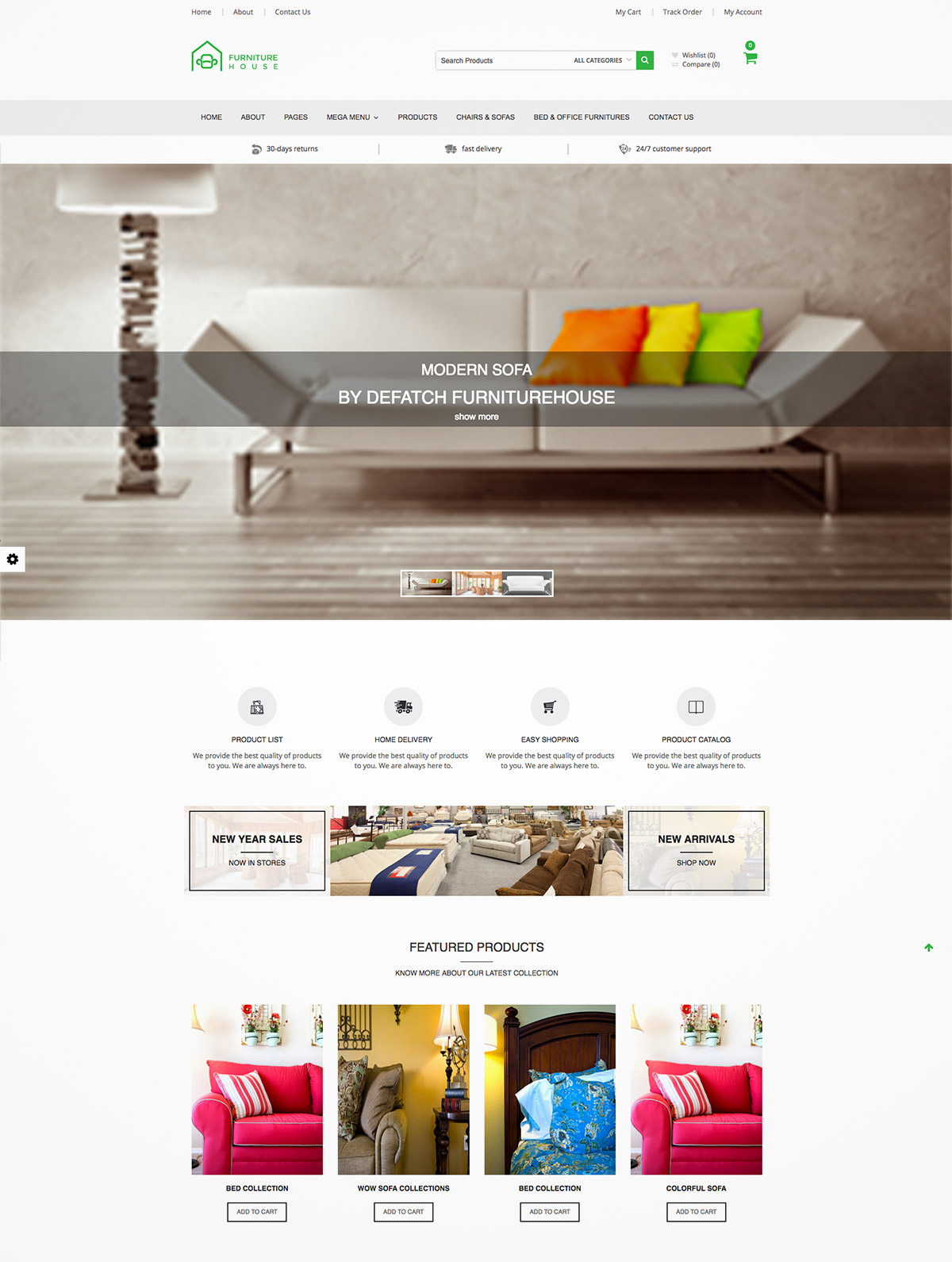 furnitures theme magento