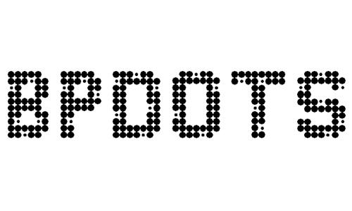 BPdots font