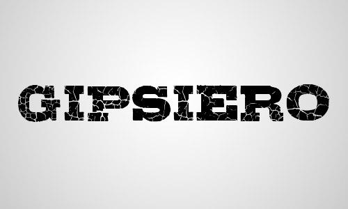 gipsiero free crack font