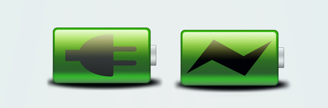 30 Sets of Free to Download Battery Icon