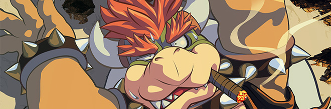 Various Artworks Collection of Bowser