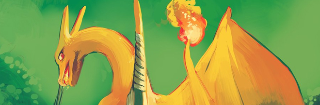 22 Charizard Illustration Artworks
