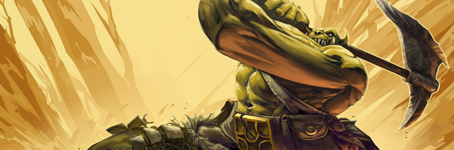 30 Various Orc Warriors Illustration Artworks