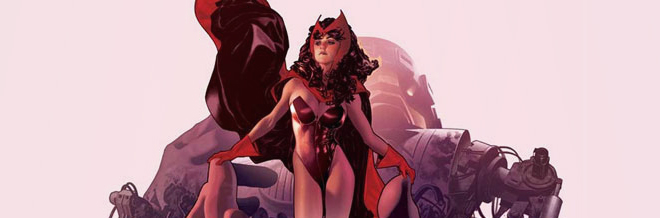 33 Scarlet Witch Illustration Artworks