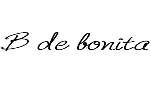 B de bonita regular font