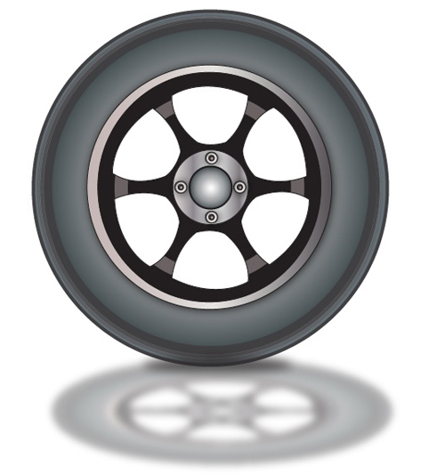 How To Make A Realistic Vector Wheel In Illustrator