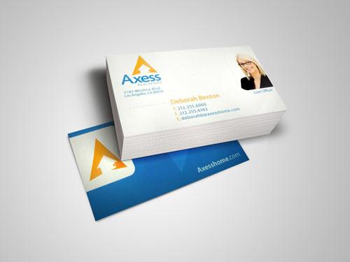 Axxess Real Estate Business Card