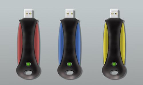 Modern Memory USB - open
