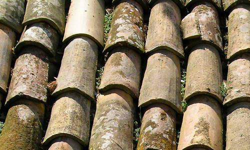 Free Texture: Italian Roof Tiles 1