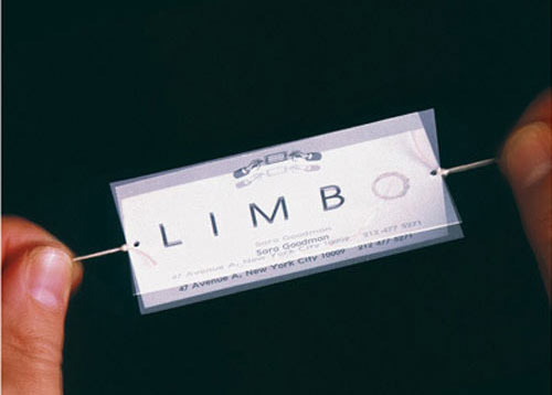 Business Card for: Limbo