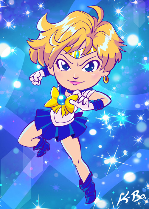 sailor uranus by k-bo