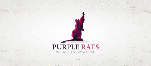Purple rats logo