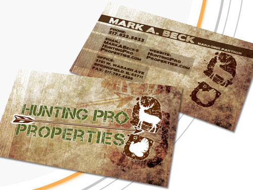 Hunting Pro Properties Business Card