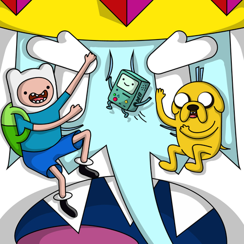 Create an Adventure Time Scene in Illustrator