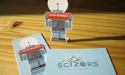 Robot Business Card