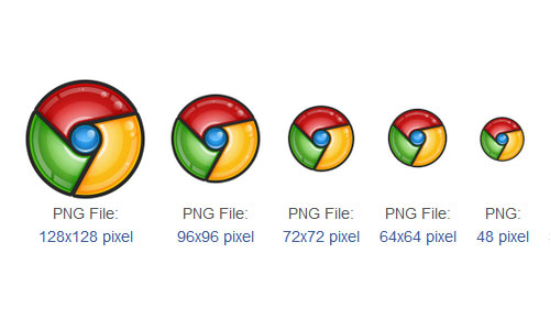 Browser chrome Icon