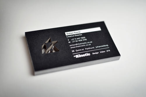 The Kinetic Business Card