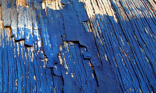 Blue Peeling Plywood texture
