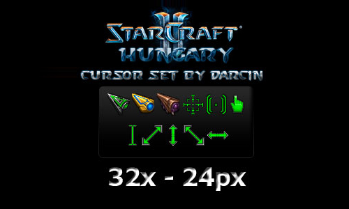 Starcraft 2 Cursor Set