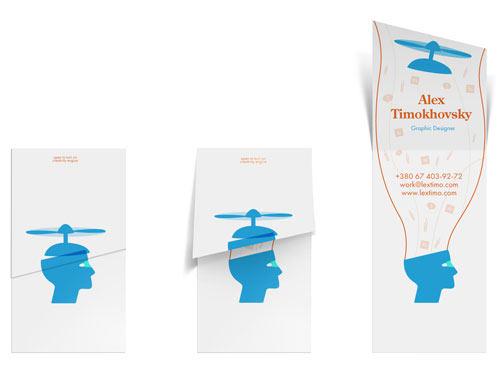 Business Card for: Alex Timokhovsky