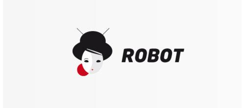 Japan robot logo