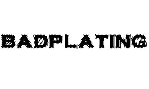 VTC-BadPlating font