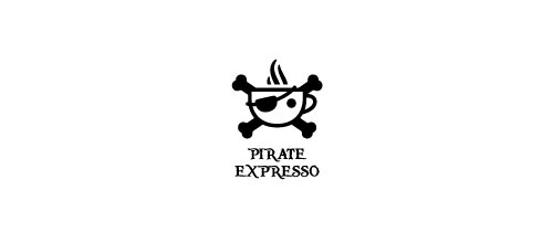 Pirate expresso logo