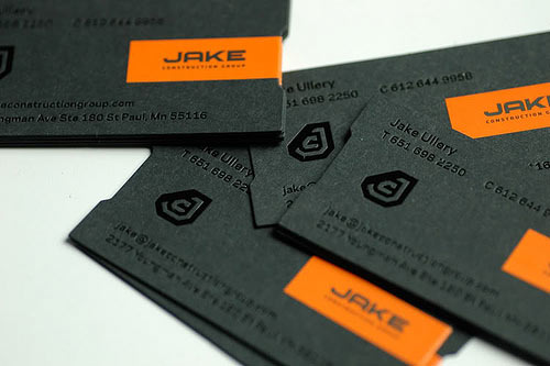 JAKE Construction Business Card