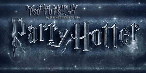"Create a ""Parry Hotter"" Text Effect in Photoshop"
