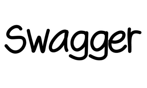 Swagger font