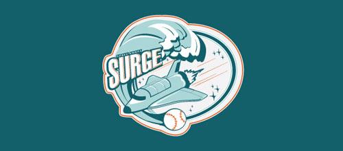 Space Coast Surge logo