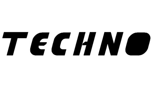 techno tech font