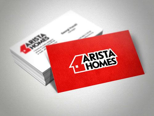 Artista Homes Business Card