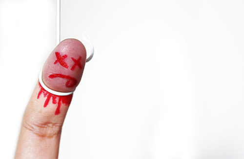 finger suicide