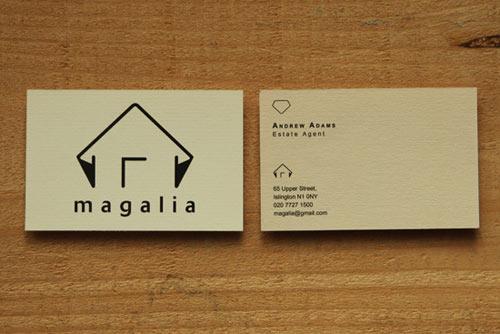 MAGALIA business card