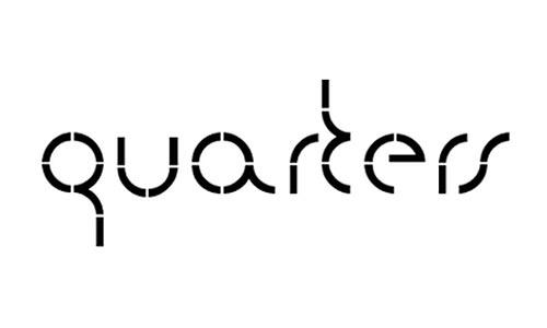 quarters font