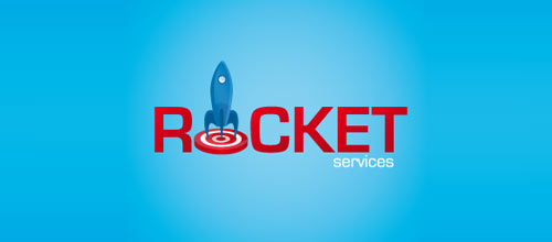 Rocket service logo