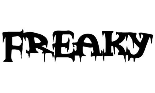 freakynight font
