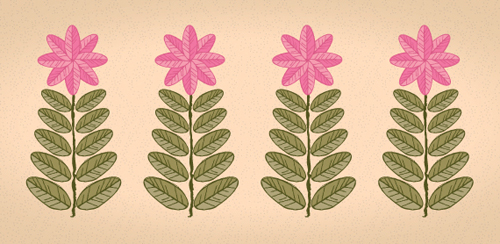 Quick Tip: Retro Leaves and Flowers with the Transform Effect