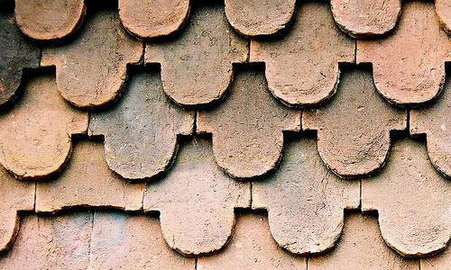Brown Gable Roof texture