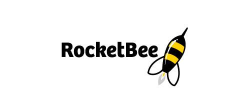 bee rocket logo