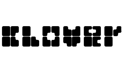 clover font