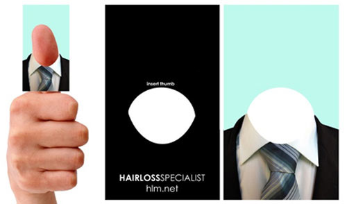 Business Card for: Hairloss Specialist