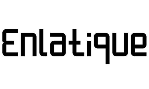 Enlatique Rounded Regular font