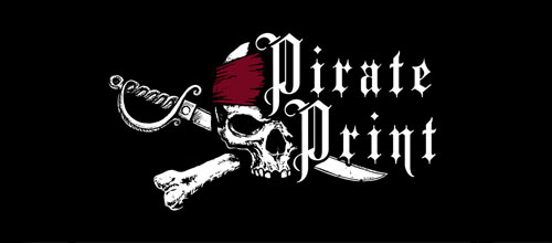 Pirate Print logo