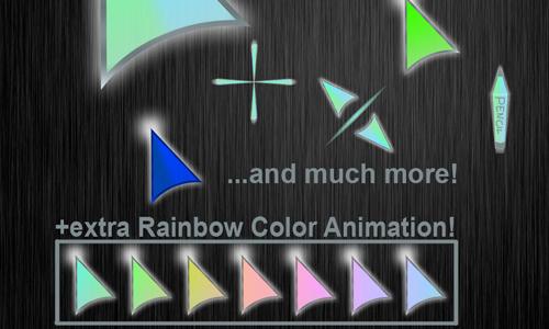 30 Sets of Free Cursor Icon | Naldz Graphics