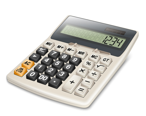 Creation of a Realistic 3D Calculator in Illustrator