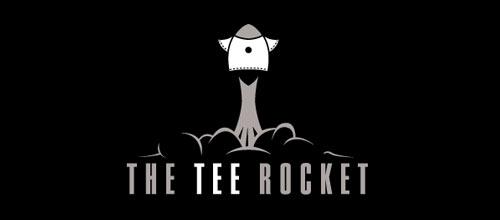 The Tee Rocket logo