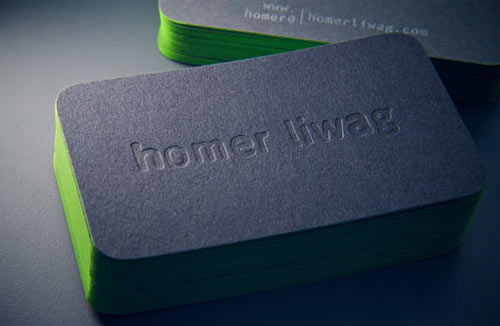 Artistic, Industrial, & Elegant Business Card